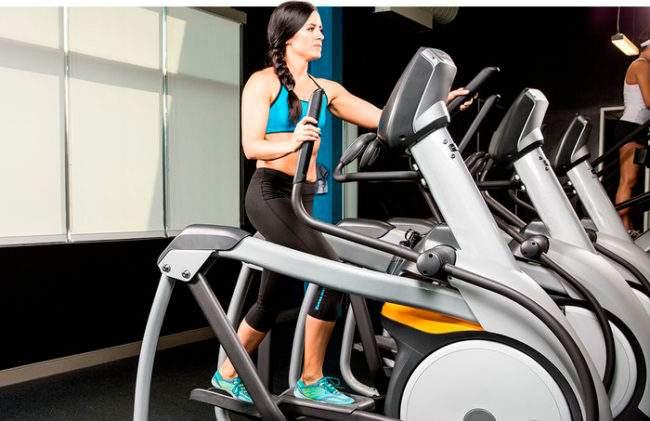 Упражнения на эллипсоидном тренажере
