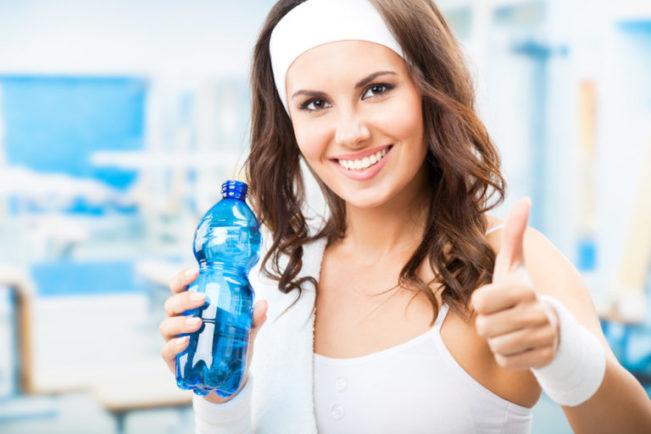 Питье во время занятий спортом